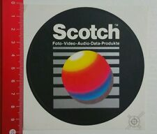 Aufkleber/Sticker: Scotch Foto Video Audio Data (180616120)