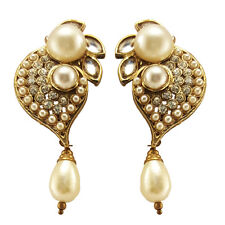 Pearl Earrings White Silver Stud Freshwater Sterling Fashion 925 Genuine