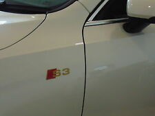 For AUDI S3 GOLD SPORT STICKERS, GRAPHICS,WING,CUSTOM,A1,A2,A3,A4,A5,A6,S3,S4,