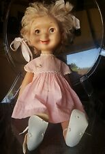1960 WHIMSIE DIXIE THE PIXIE Rubber doll w/ original Clothing Bows Shoes