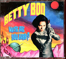 BETTY BOO - WHERE ARE YOU BABY ? - 3 INCH 8 CM CD MAXI [1953]