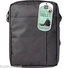 """DesignGo Large 10"""" Tablet Day Bag Shoulder Tote Black 849"""