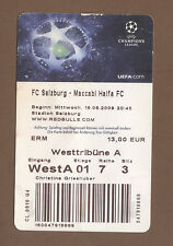 Orig.Ticket  Champions League  09/10  RED BULL SALZBURG - MACCABI HAIFA  !!  TOP