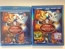 The Aristocats (Blu-ray/DVD, 2012, 2-Disc Set, Special Edition) w/slipcover RARE