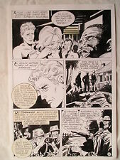 A L'ARME BLANCHE  SPECTACULAIRE PLANCHE GEANTE ELVIFRANCE  PAGE 12