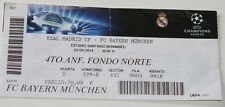 old TICKET CL Real Madrid Spain - Bayern Munchen Germany