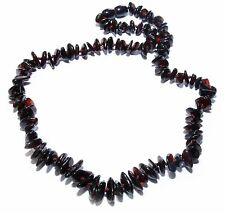 Genuine Baltic Amber Necklace for Adult Cherry 43 - 45 cm