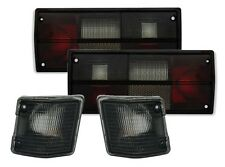 SMOKED REAR TAIL LIGHTS LAMPS & INDICATORS FOR VW BUS T2 & T3  1979-1992