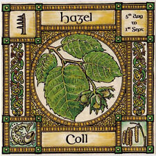 HAZEL TREE GREETING CARD 5th Aug - 1st Sept Celtic PAGAN Birthday WICCAN OGHAM