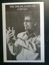 STAR TREK Deforest Kelly THE DREAM GOES ON Poem Book Autographed