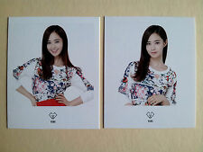 SNSD Girls' Generation Coex POLAROID CARD SM OFFICIAL GOODS  - Yuri (2pcs)