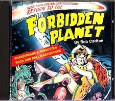 RETURN TO THE FORBIDDEN PLANET- 1989 Live Original London Cast Recording CD RARE
