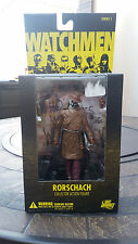 NEW SEALED Watchmen Rorschach Masked Action Figure - DC Direct Series 1 RARE