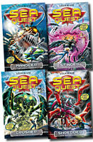 Sea Quest Series Collection Adam Blade 4 Books Set (5 to 8) Shredder, Stinger