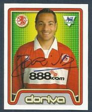MERLIN-2005-F.A.PREMIER LEAGUE 05- #394-MIDDLESBROUGH-PORTO & BRAZIL-DORIVA