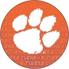 "CLEMSON 4"" REPEAT DESIGN MANGET-CLEMSON TIGERS CAR MAGNET-NEW FOR 2016!"