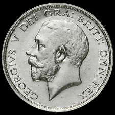 1915 George V Silver Half Crown – A/EF