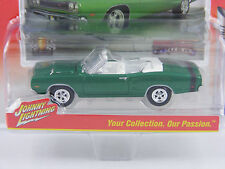 Dodge Coronet R/T 1969 in grün,Johnny Lightning Muscle Cars USA Rel.1,1/64