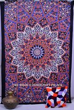 Mandala indien Tenture coton Tapisserie Lits Taille multi Color Decor Throw Star