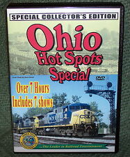 "20240 TRAIN VIDEO DVD BOX SET ""OHIO HOT SPOTS SPECIAL"""