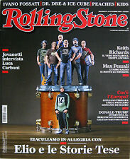 RS 11 2015 Elio e Le Storie Tese Keith Richards Jack White Max Pezzali Peaches