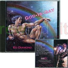 "ED DIAMOND ""GOD IS GAY"" RARE CD 1997 - SEALED"