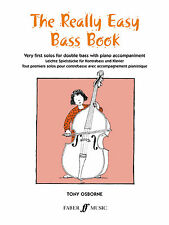 Really Easy Bass Instrumental Solo Piano Learn to Play SONGS FABER Music BOOK