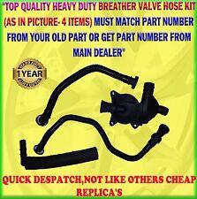 Pour bmw E46 316I 318I crankcase breather vent valve tuyau de set 11617503520