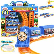Kids Toys Handcrafted Electric Train Set Educational DIY Runing Boys Love Gifts