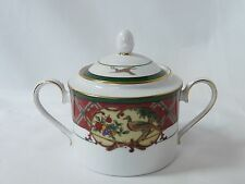 Noritake Royal Hunt Sugar Bowl and Lid #3930 Christmas Holiday China 3""