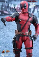 DEADPOOL (Ryan Reynolds) Hot Toys 1/6 Figure *UK SHIPPED* HARD TO FIND! MMS347