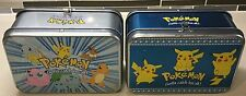 Vintage Pokemon Card Tins! Neat Pieces! Free Shipping!