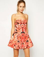 NWT $181 Finders Keepers Talk Is Cheap Dress in Blurred Floral Print S