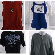 Men's Lot of 6 T-shirt - Sleeveless to Long Sleeve Adidas, Japanese, Solid XL
