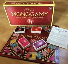 Monogamy Board Game Hot Adult Game 18+ 2005 Valentines Complete
