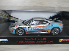 Hot Wheels Elite 1/18 - Ferrari 360 Modena Team Shelton #411 North American Cham