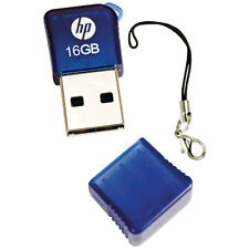 HP 16GB V165W USB Flash Drive Memory Stick Pen Thumb  Blue New UK