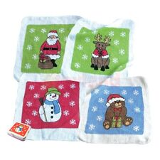 CHRISTMAS MAGIC FACE CLOTH FLANNEL TOWEL BOYS GIRLS GIFT XMAS STOCKING FILLER