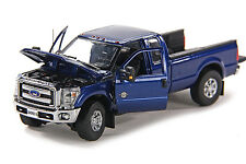 "Ford F250 Pickup Truck - Super Cab - 8 Ft Bed - ""BLUE"" - 1/50 - Sword #SW1100B"