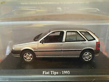 "DIE CAST "" FIAT TIPO - 1993  "" + TECA RIGIDA BOX 2 SCALA 1/43"