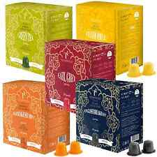 50 Nespresso Compatible TEA Pods / Capsules Taster Pack - 5 flavours