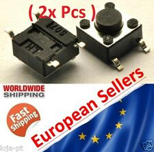 2x SMD Micro Push Button Switch OFF ON  6x6x5 mm 0.05A-12V Pressure mini 4P - V1