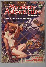 "Mystery Adventure June 1936 Norman Saunders ""Zenith Rand, Planet Vigilante"" Cvr"
