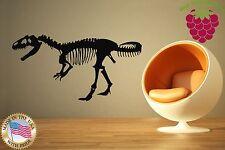 Wall Stickers Vinyl Decal Dinosaur Skeleton Nursery For Children ig771