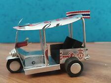 Tuk Tuk Tailand taxi model - Collectible Hand made from Coca Cola Light Can