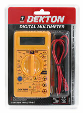 Digital LCD Multimeter Voltmeter Ammeter OHM AC DC Circuit Checker Tester