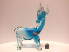 Genuine 1960's/ 1970's Cenedese Venetian Glass Donkey/ Horse Figurine with Label