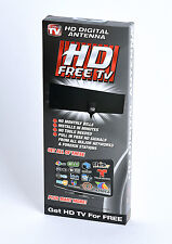 As Seen on TV HD Clear Vision Ultra-Thin Indoor HDTV Antenna Free Air Digital TV