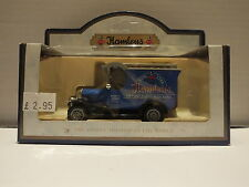 LLEDO DG50002 1926 BULL NOSE MORRIS VAN - HAMLEYS - PROMOTIONAL BOX
