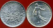5 francs 1963 SEMEUSE  ARGENT